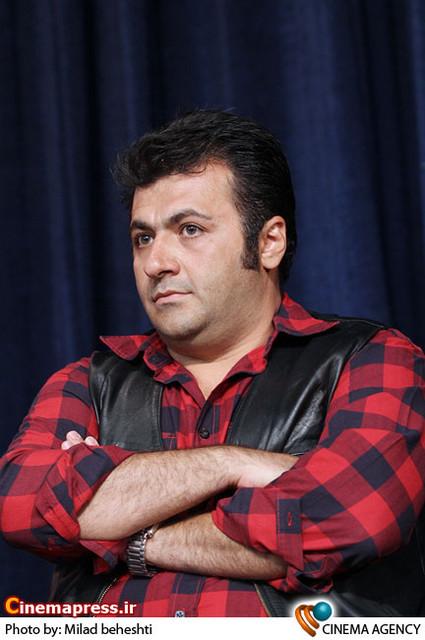 شهرام عبدلی در نشست سریال «پروانه» به کارگردانی جلیل سامان در فرهنگسرای فردوس