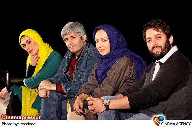 تمرین نمایش «شام با دوستان» به کارگردانی آیدا کیخایی