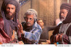 «احمدرضا درویش» کارگردان سینمای ایران در پشت صحنه روز رستاخیز