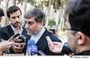علی جنتی در جمع خبرنگاران