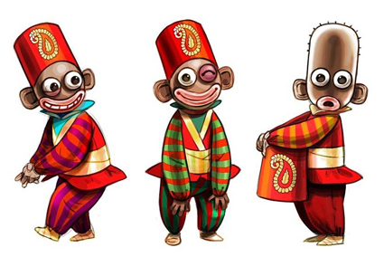 انیمیشن عروسکی قصه های مبارک