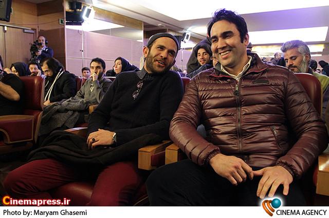 پوریا پورسرخ در نشست خبری فیلم «رستاخیز» در جشنواره فیلم فجر