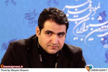 آرمان موسی پور در نشست خبری فیلم «آذر ،شهدخت،پرویز و دیگران » در جشنواره فیلم فجر