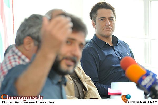 محمدرضا گلزار در نشست خبری یار دوازدهم