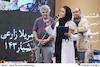 مریلا زارعی در هشتمین جشن انجمن منتقدان و نویسندگان سینمای ایران