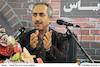 حسین مسافر آستانه در نشست خبری دومین جشنواره بینالمللی فیلم ویدیویی «یاس»