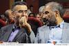 محمدمهدی عسگرپور و حجت اله ایوبی در آئین نکوداشت شانزدهمین جشن خانه سینما