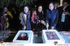 ترانه علیدوستی، گوهر خیراندیش و نگار جواهریان در افتتاحیه هشتمین جشنواره فیلم پروین اعتصامی