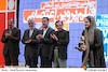 نرگس آبیار در اختتامیه هشتمین جشنواره ملی و چهارمین جشنواره بین المللی فیلم پروین اعتصامی