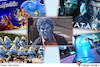 جنهای آبی در انیمیشنهای غربی