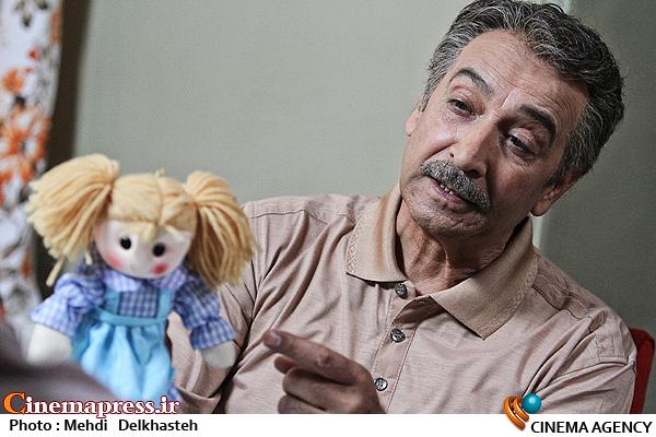 محمود پاک نیت در سریال نفس گرم